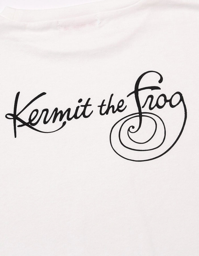 BIG TEE / THE MUPPETS ( KERMIT ) / WHITE