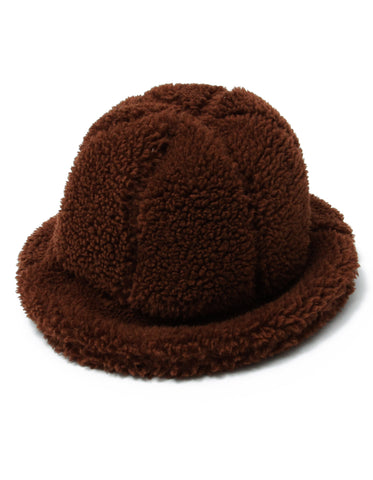Winter boa hat / BROWN