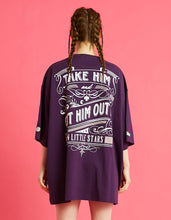 画像をギャラリービューアに読み込む, Romeo and Juliet X LITTLE SUNNY BITE : Photo big tee / PURPLE