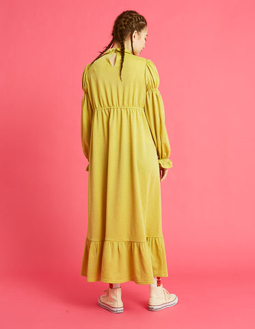 Long girly dress / YELLOW