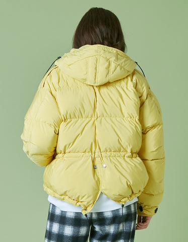 Short down jacket / YELLOW