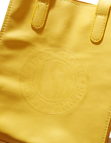 LSB symbolic shoulder bag / YELLOW