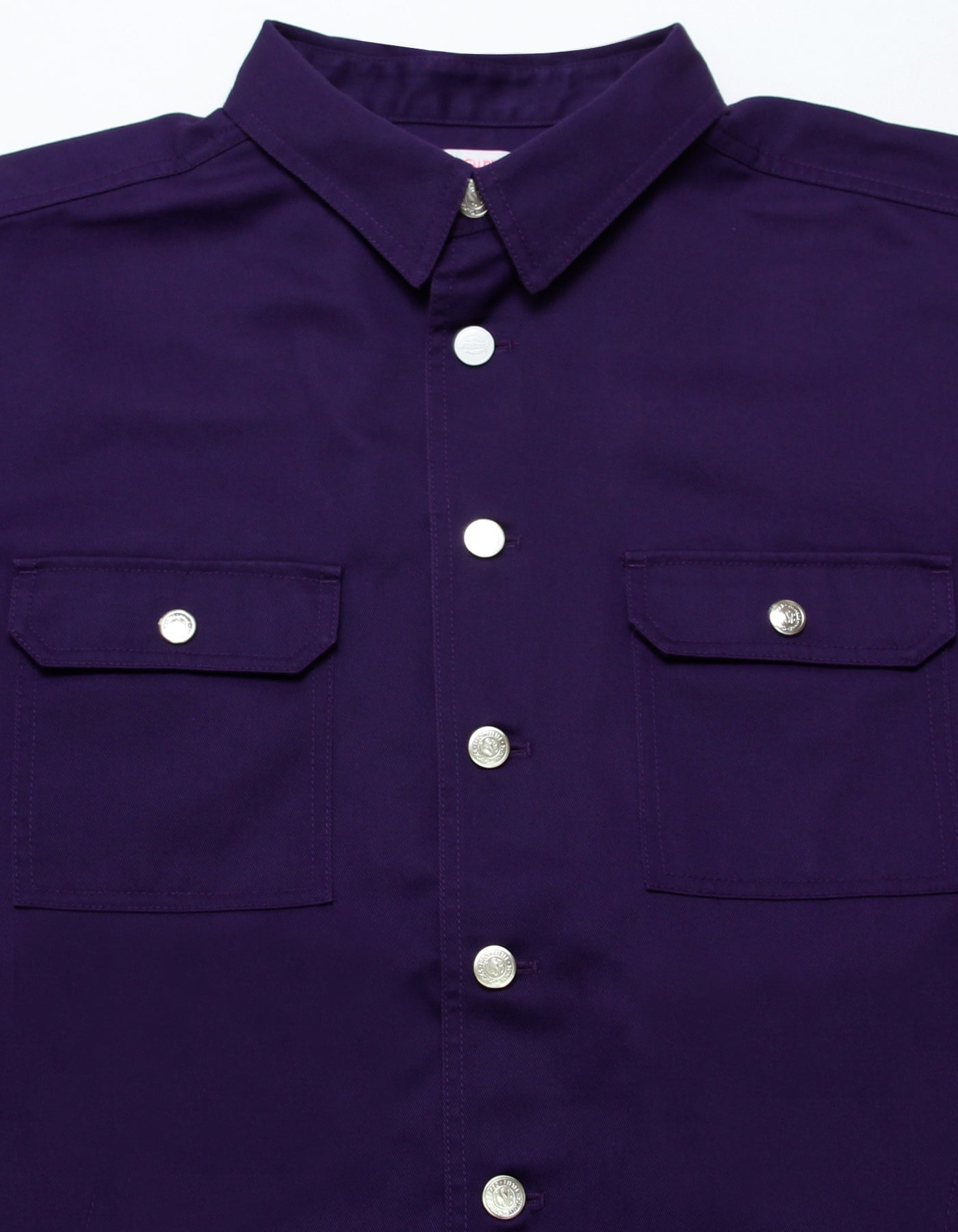 Dickes x little sunny bite shirts jacket / PURPLE