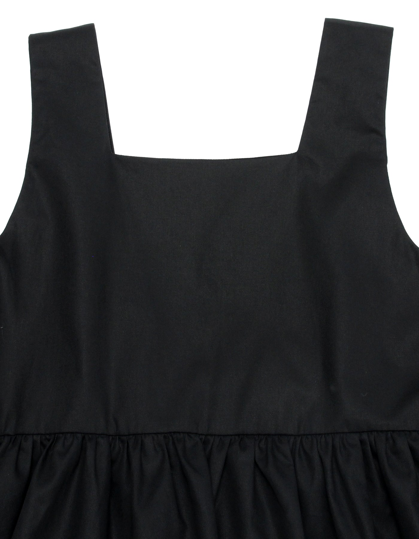 Tiered dress / BLACK