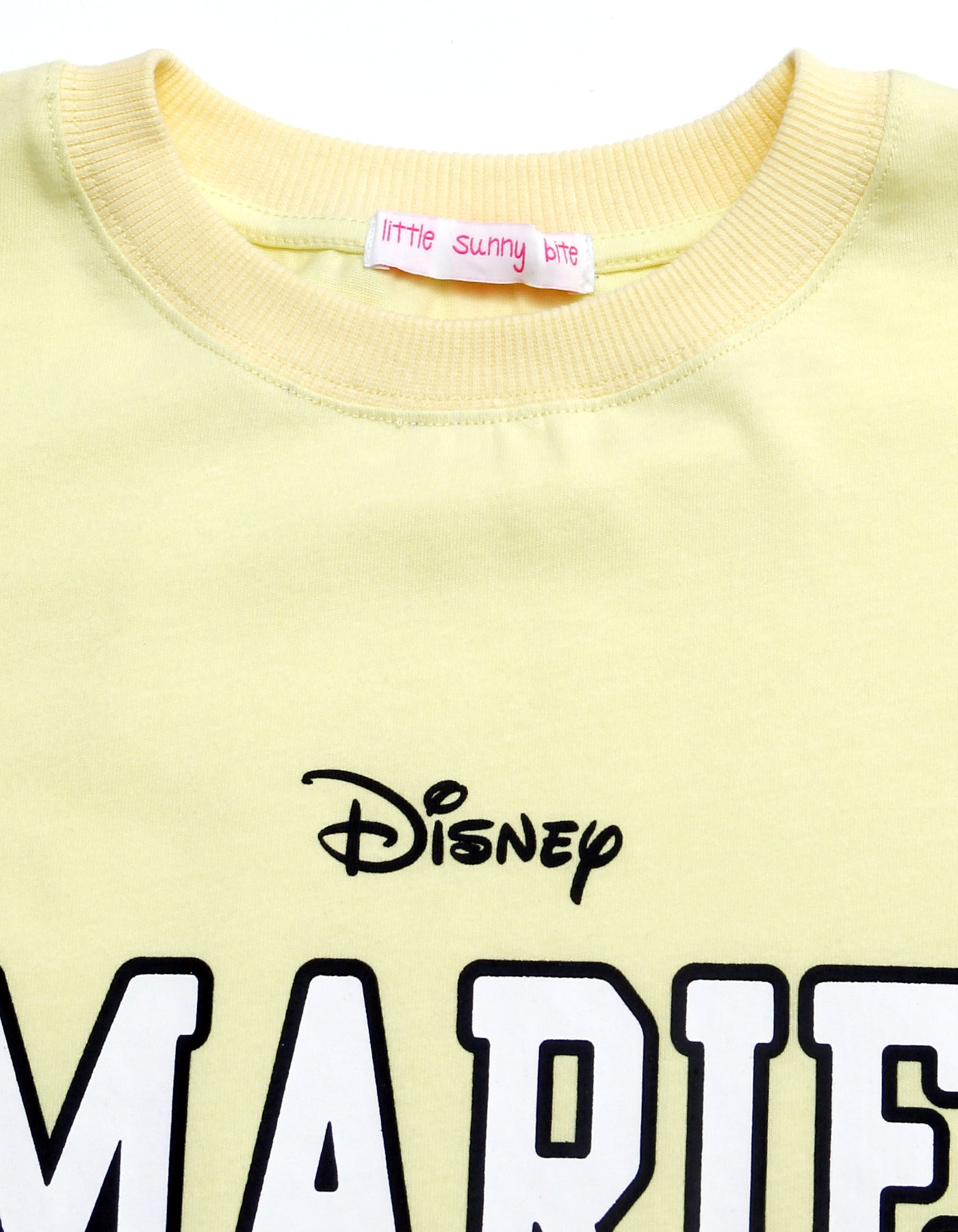 Marie long tee / YELLOW
