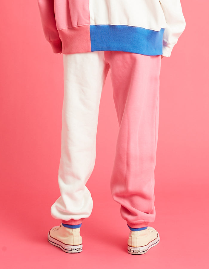 LSB logo sweat pants / PINK