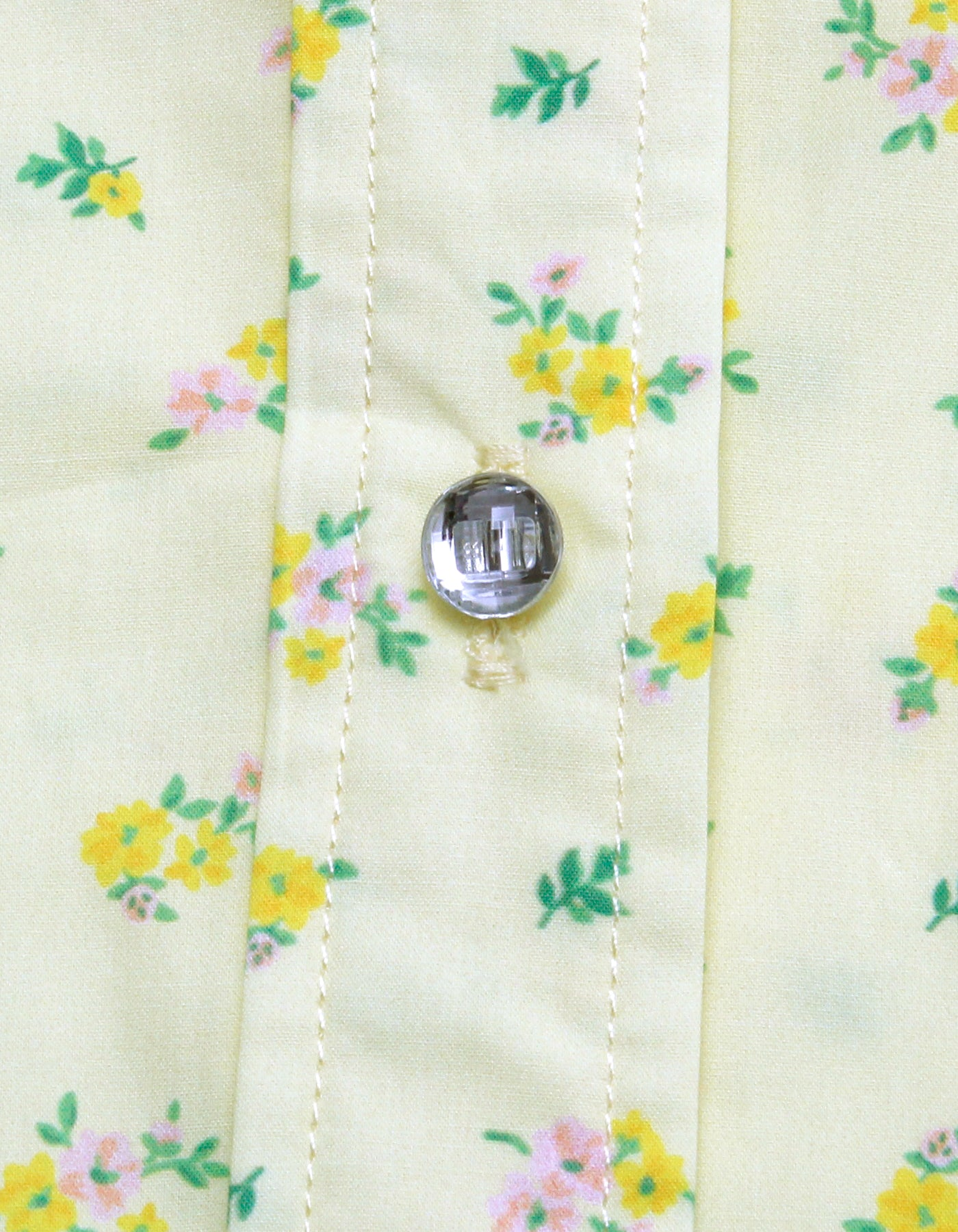 Floral short shirts / YELLOW