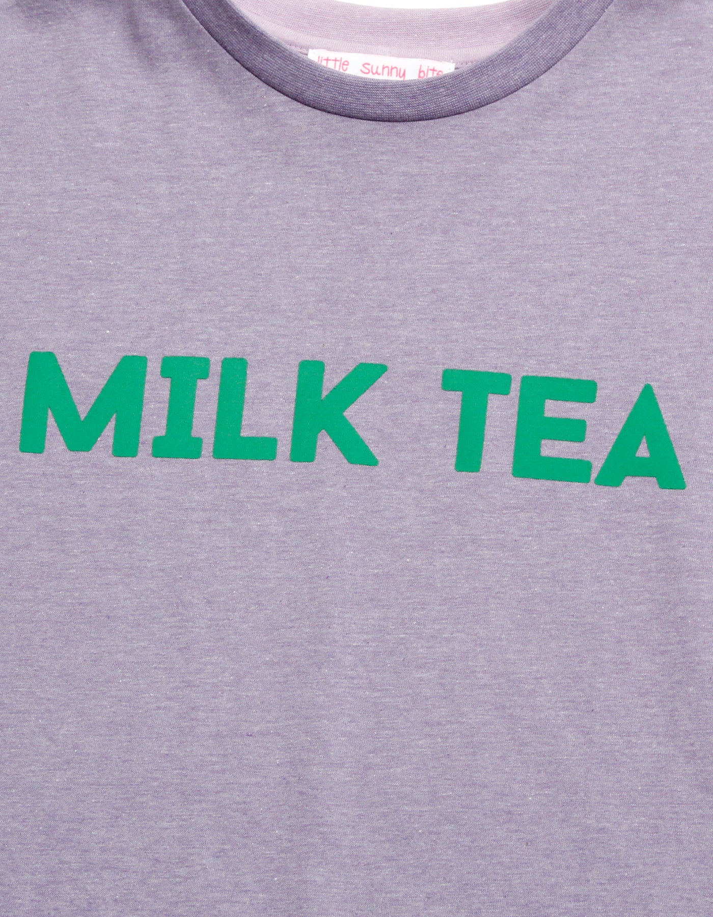 Milk tea tee / PURPLE×PURPLE