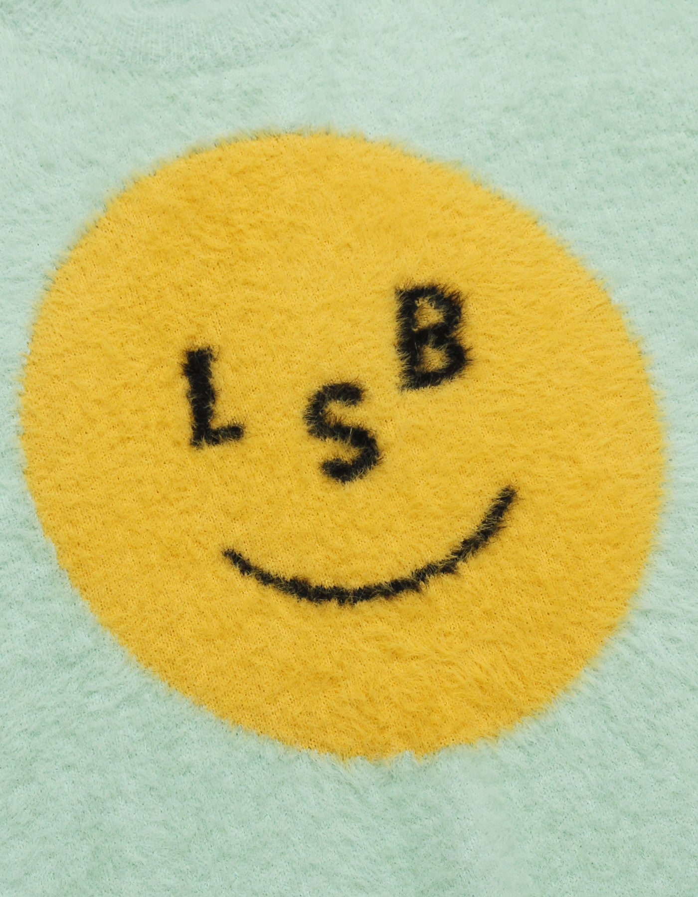 LSB smile big knit / GREEN