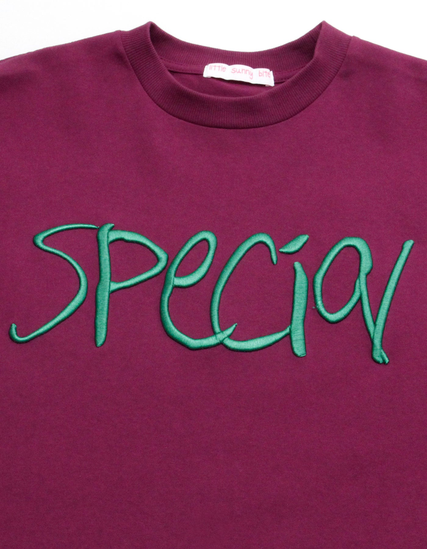 Special stiched big tee / PURPLE