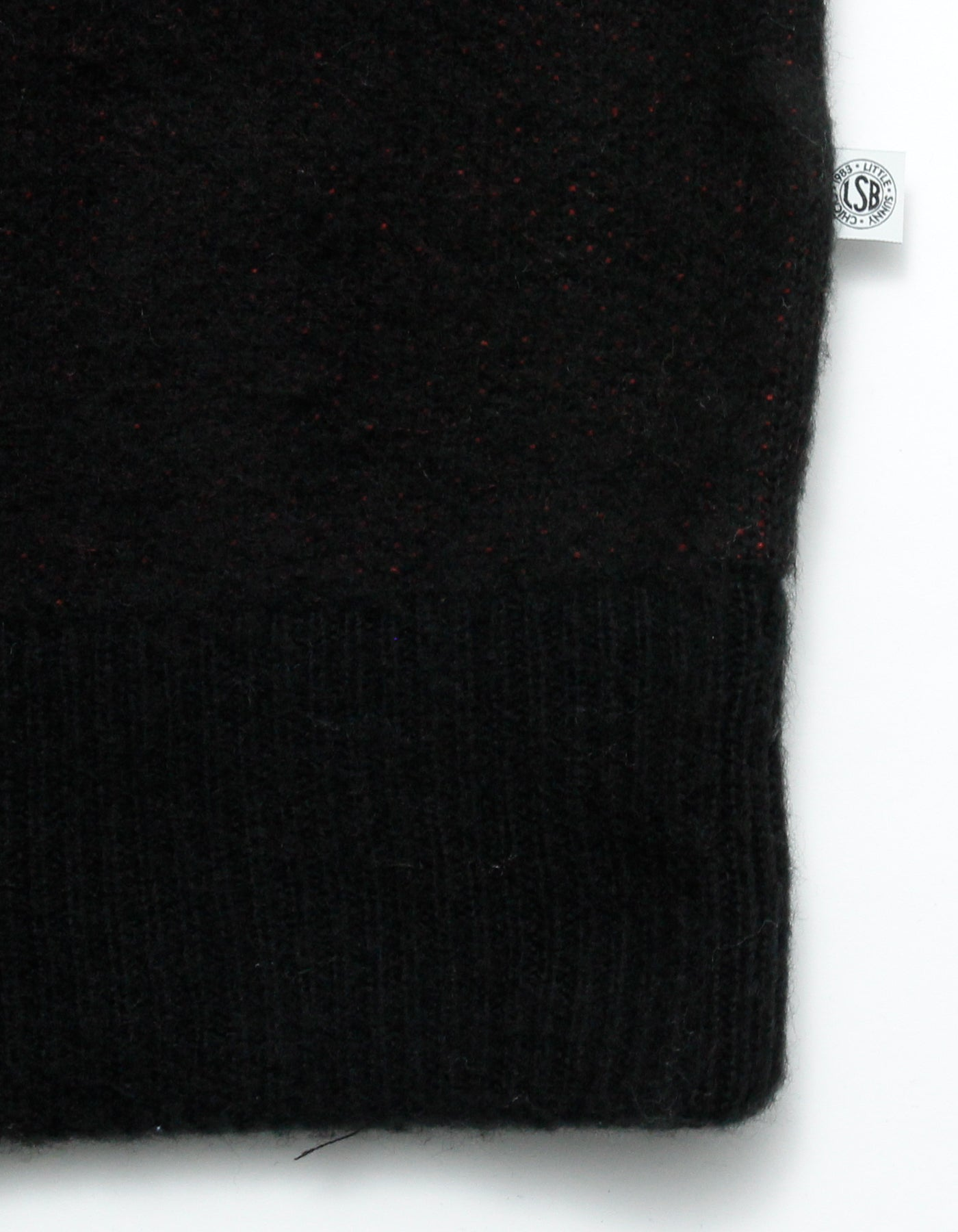 Hibiscus knit / BLACK