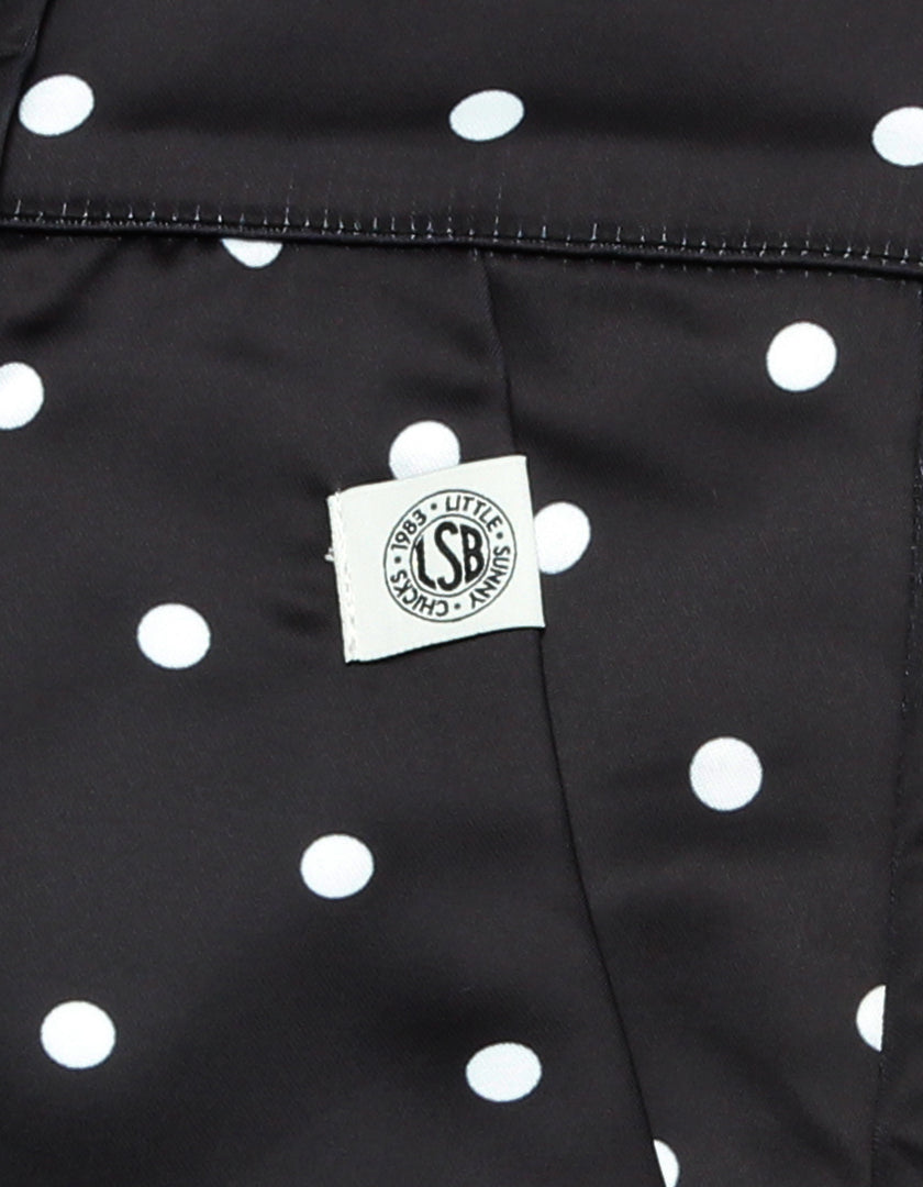 Dot pants / BLACK
