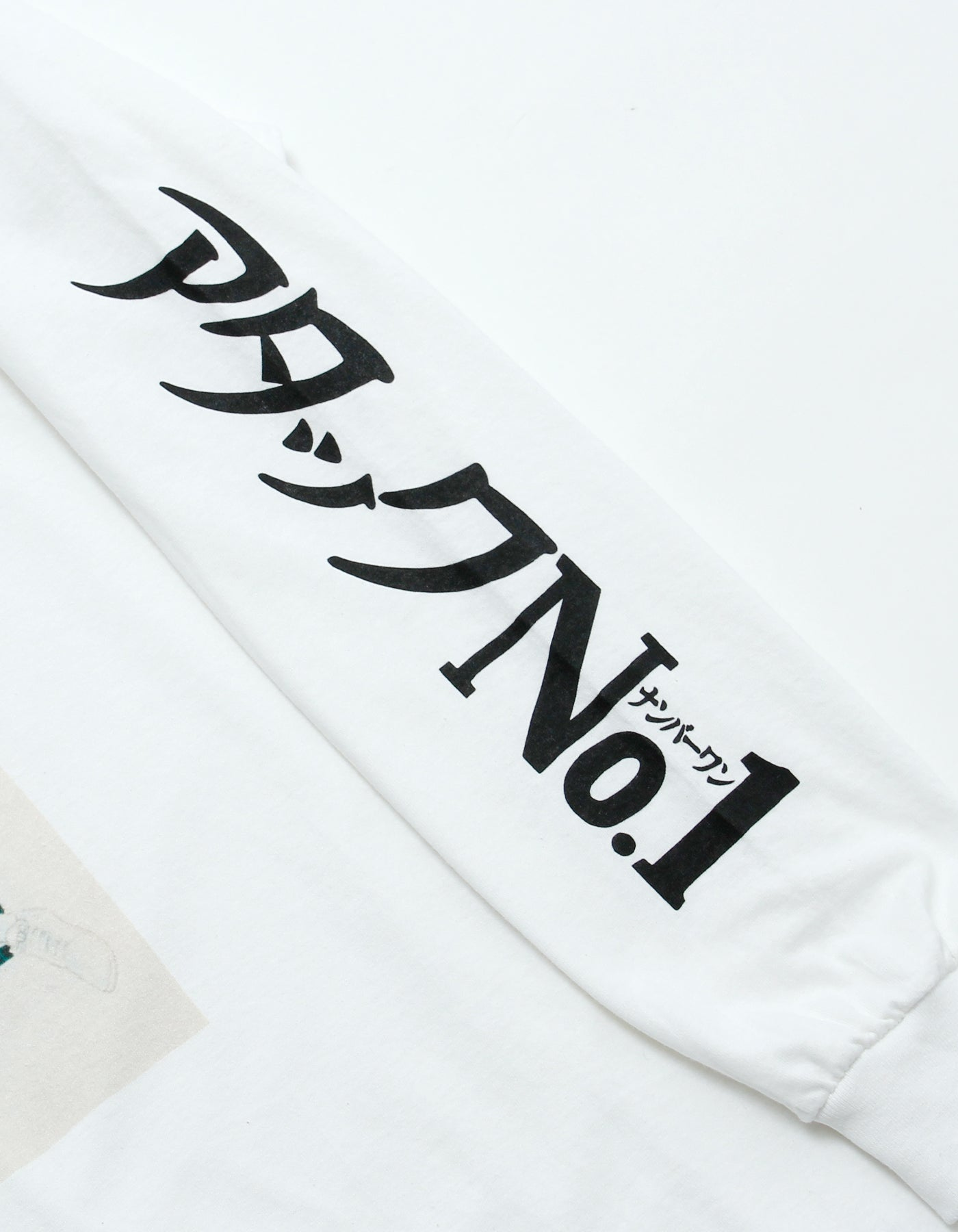 アタックNO1 x little sunny bite Comic long tee / WHITE