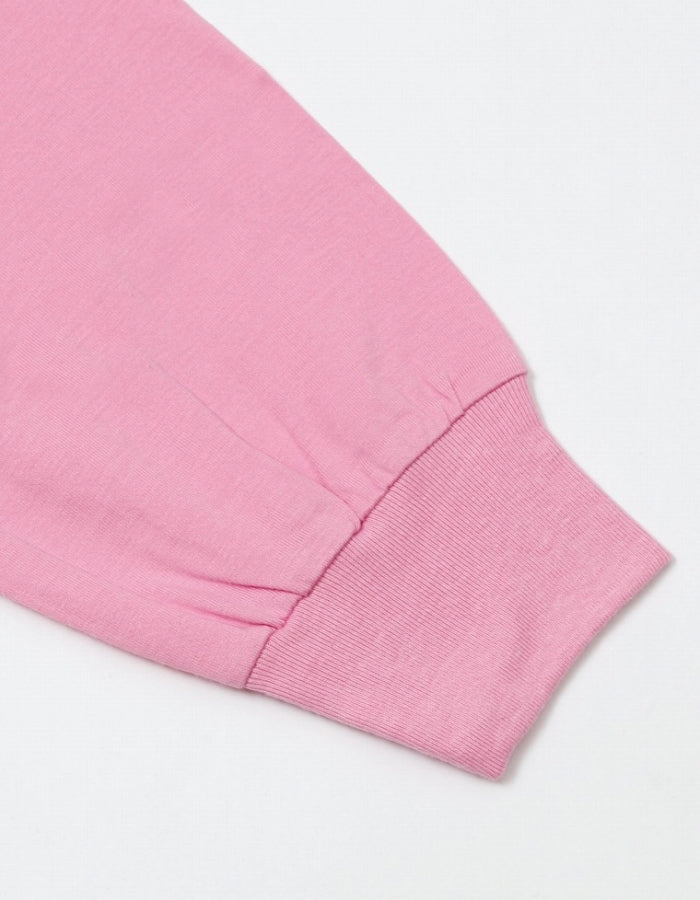 PUBLIC CULTURE X LITTLE SUNNY BITE : SWEET TEMPTATION LONG TEE / PINK