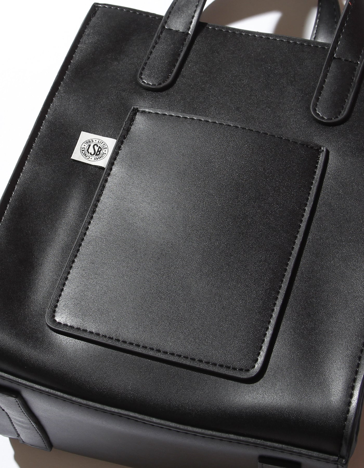LSB symbolic shoulder bag / BLACK