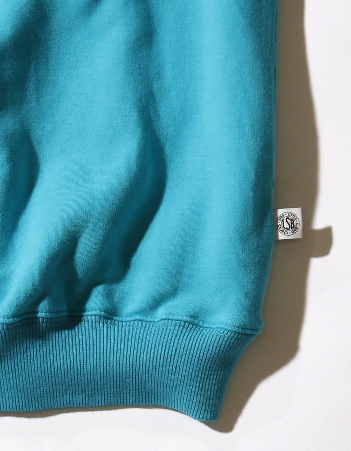 LSB high neck sweat dress / BLUE