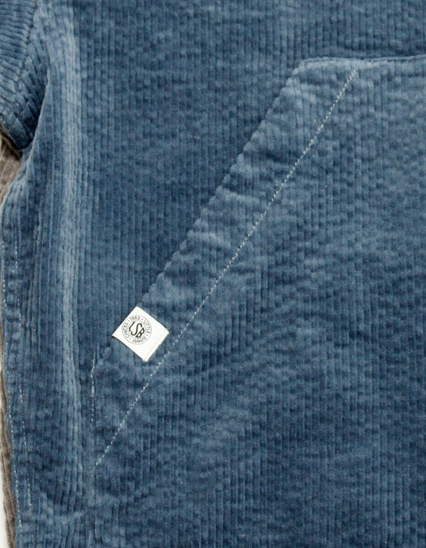 Universal overall x little sunny bite Corduroy jacket / BLUE