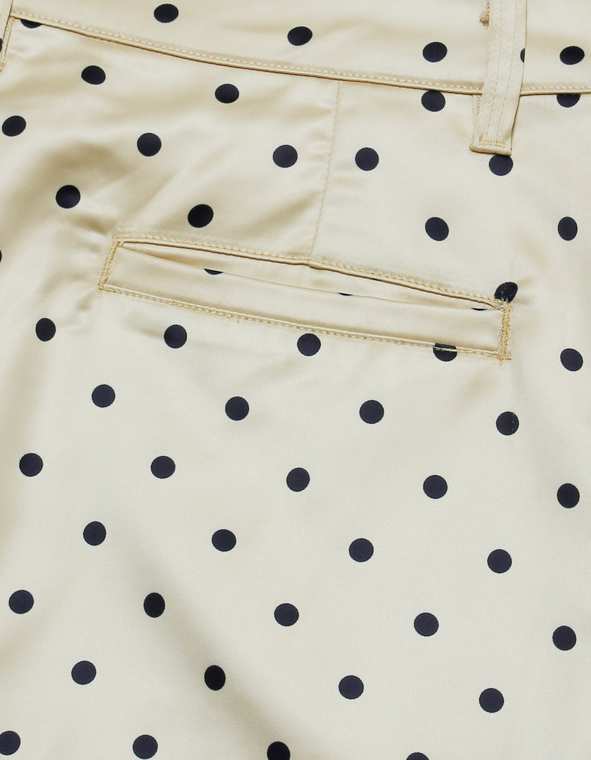 Dot pants / YELLOW