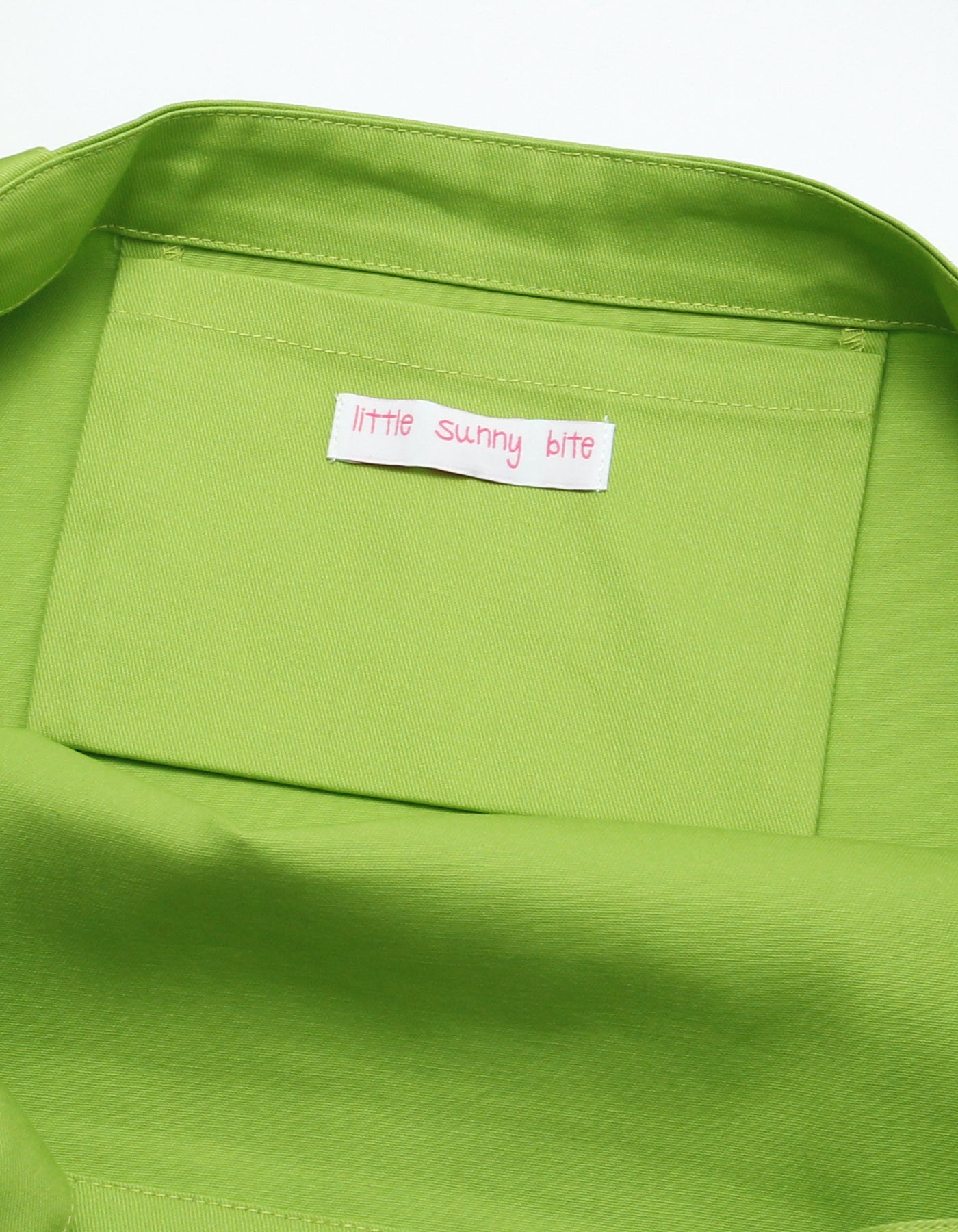 LSB Logo big tote bag / GREEN