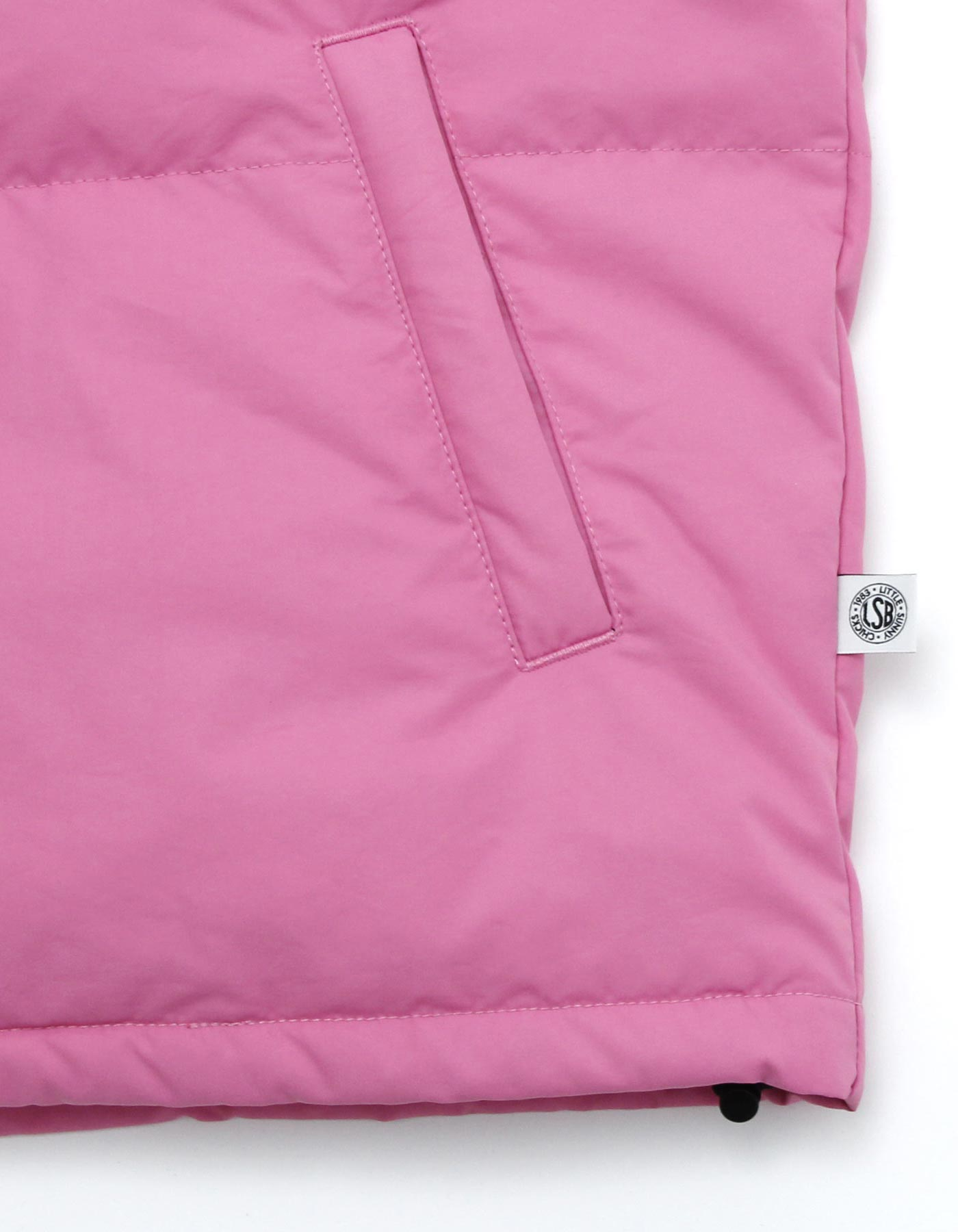 LSB logo down jacket / PINK