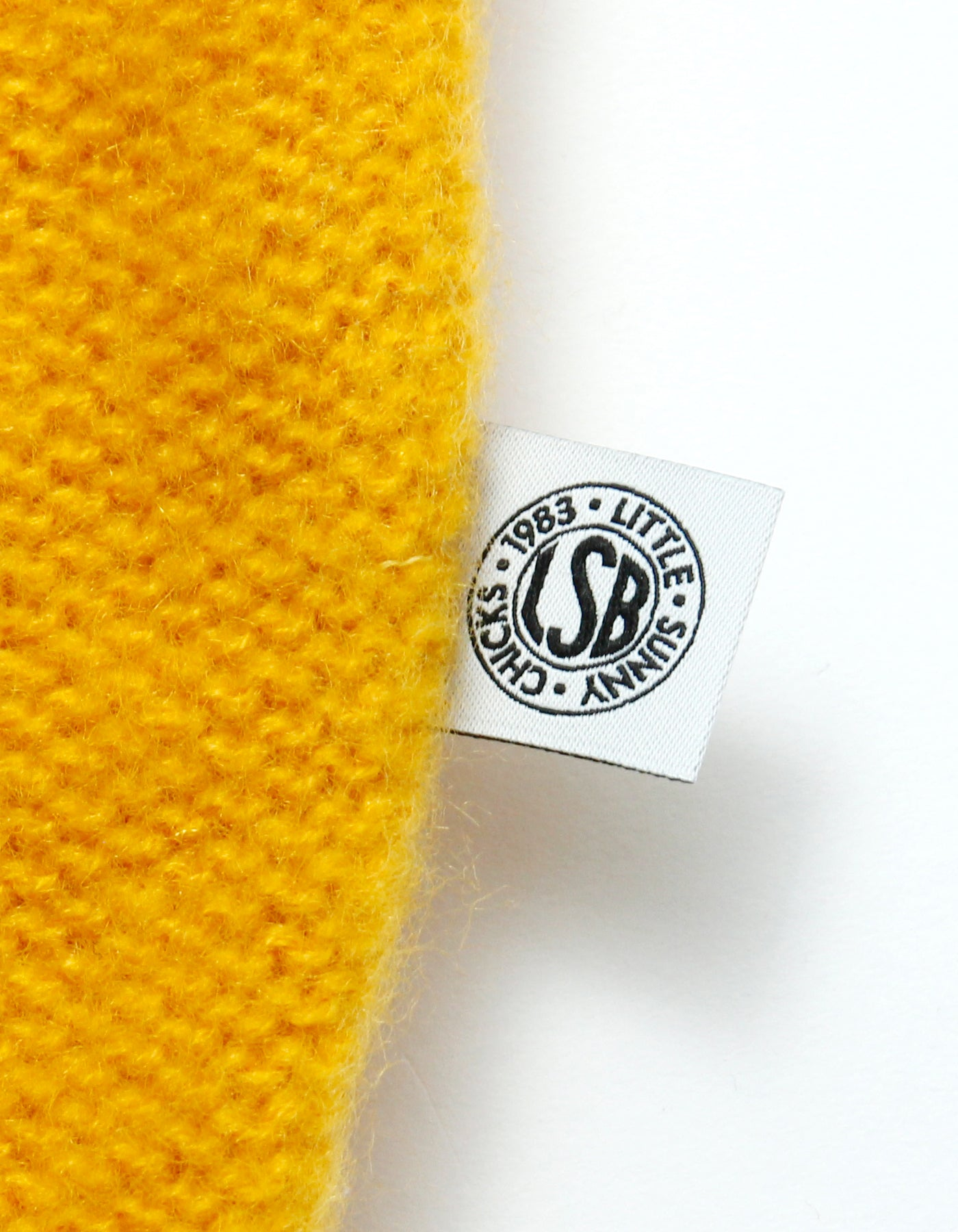 Mohair knit / YELLOW