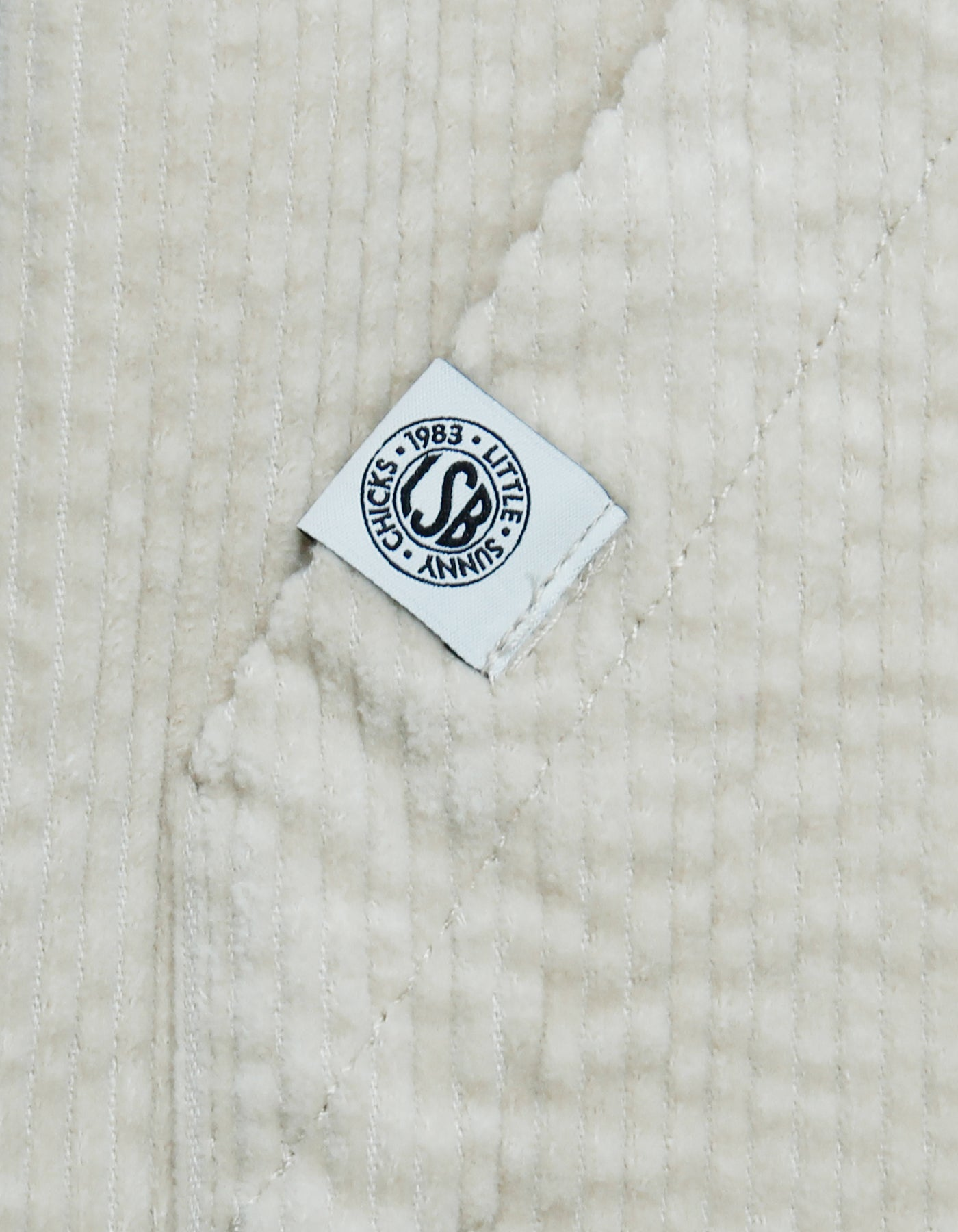 Universal overall x little sunny bite Corduroy jacket / WHITE