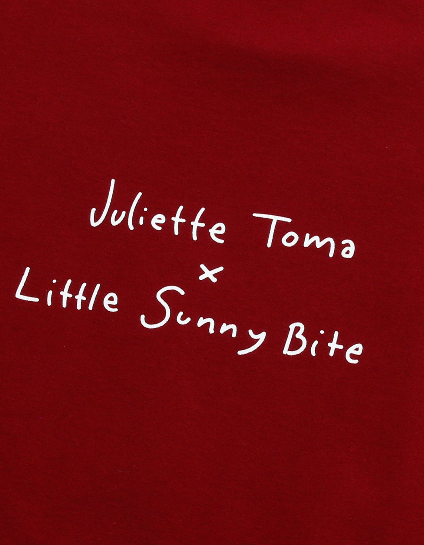 Very merry little sunny bite crew - favorite VHS sweat top / RED