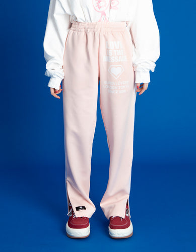 TRACK PANTS / PINK