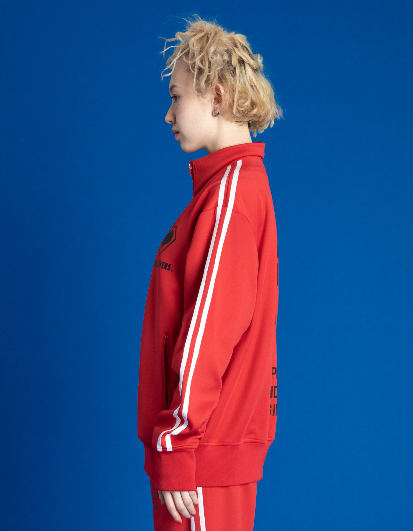 TRACK JACKET / RED