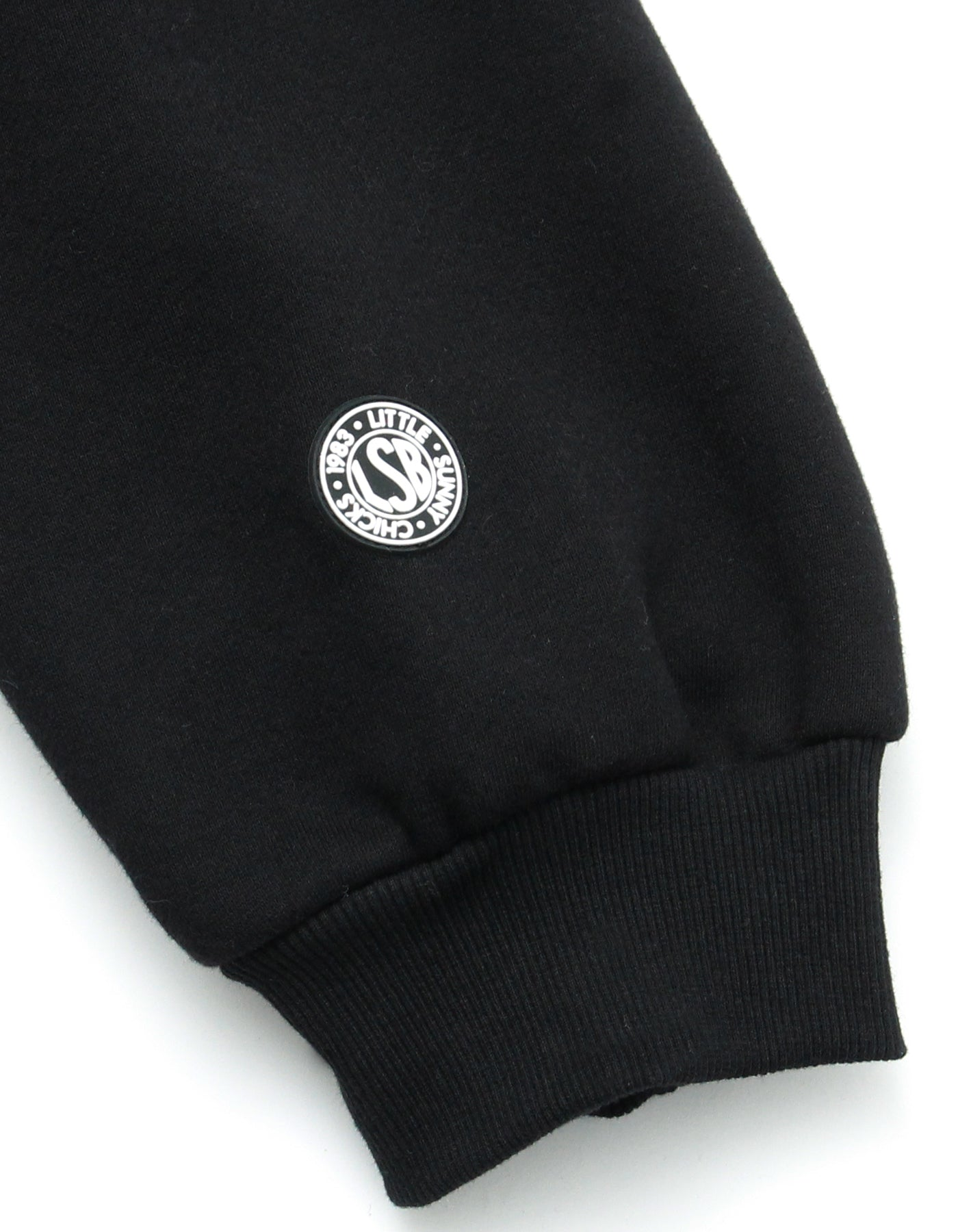 LSB sweat top / BLACK