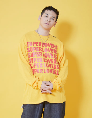 SUPER LOVERS LS TEE / YELLOW
