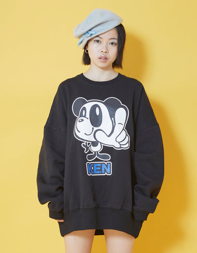 KEN sweat top / BLACK