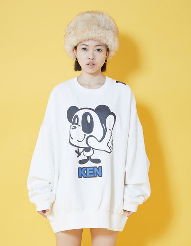 KEN sweat top / WHITE
