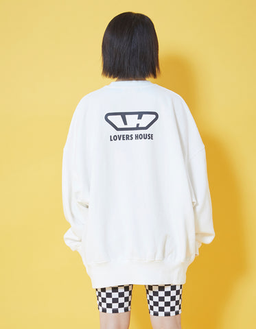 MERRY sweat top / WHITE