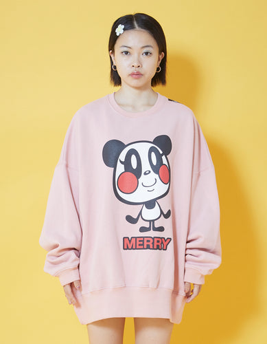 MERRY sweat top / PINK