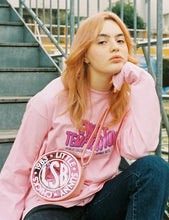 画像をギャラリービューアに読み込む, PUBLIC CULTURE X LITTLE SUNNY BITE : SWEET TEMPTATION LONG TEE / PINK