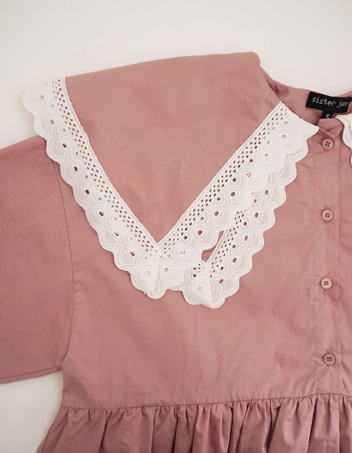 SISTER JANE : BABY DOLL DRESS / PINK