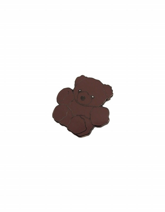ART BABY GIRL : BEAR PIN / BROWN