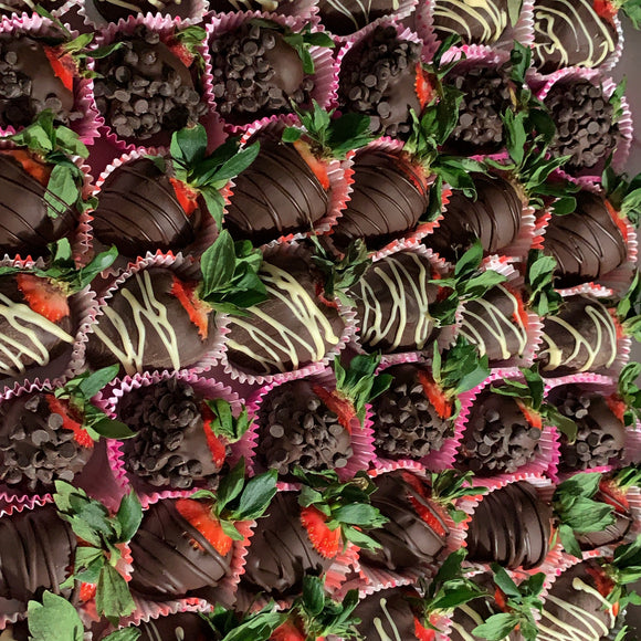 Dozen Chocolate Covered Strawberries (12)