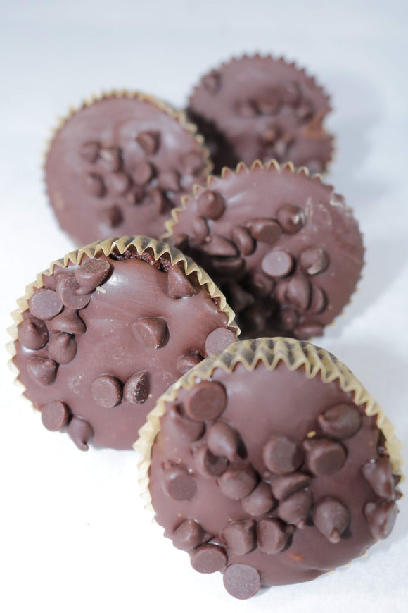 Brownie Batter Cups - Emy Delights & Bites