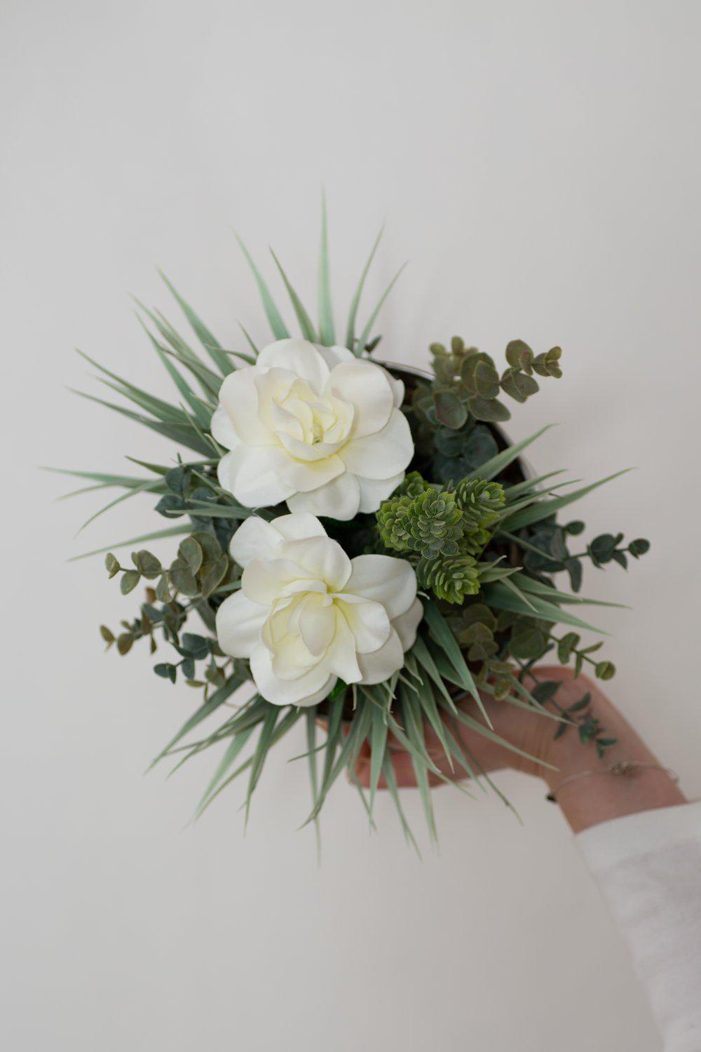 Sleek Tin Floral Arrangement
