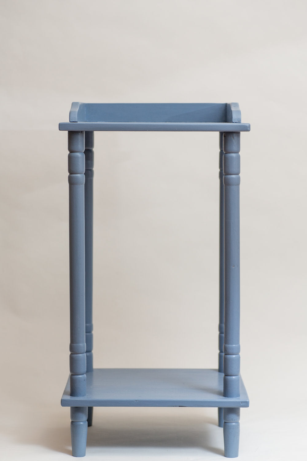 Classic Sky Blue Accent Table