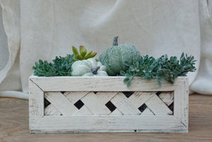 Heirloom Pumpkin Arrangement