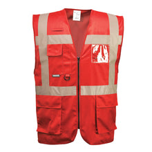 Load image into Gallery viewer, Colored Safety Vest Professional Executive Style - Safety Vest Warehouse