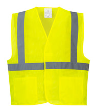 Load image into Gallery viewer, Class 2 Mesh Economy Safety Vest - Safety Vest Warehouse