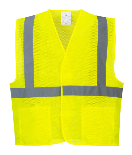 Class 2 Mesh Economy Safety Vest - Safety Vest Warehouse