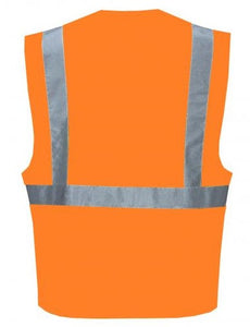 Class 2 Orange Reflective Safety Vest