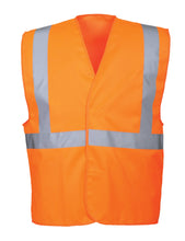 Load image into Gallery viewer, Class 2 Orange Safety Vest - Safety Vest Warehouse