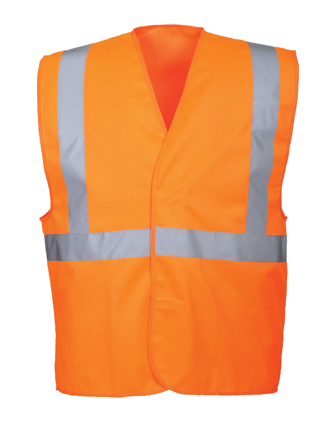 Class 2 Orange Safety Vest - Safety Vest Warehouse