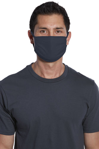 5-Pack Face Mask Cotton Knit with Antimicrobial Agion® Treated Fabric